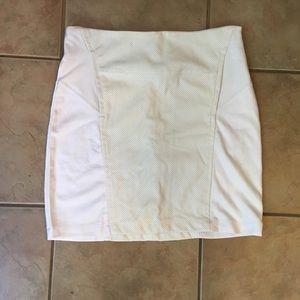Bobi Los Angeles white skirt NWT medium